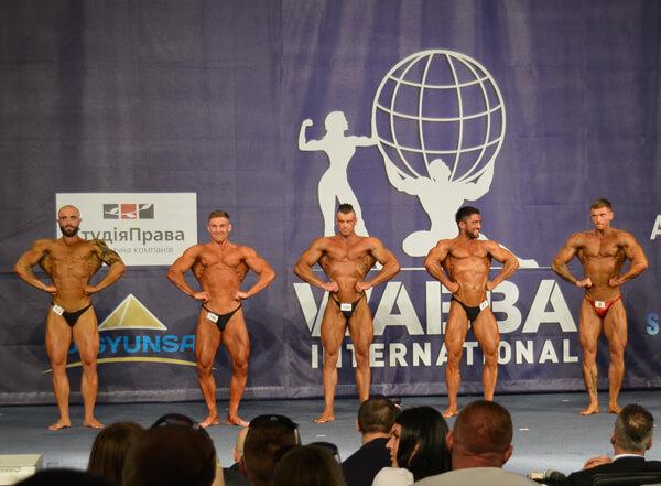 Кубок Европи по бодибилдингу WABBA 2017