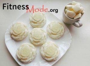белковый десерт